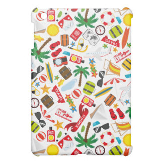 Pattern Summer holiday travel south sea iPad Mini Cover