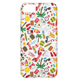 Pattern Summer holiday travel south sea iPhone 5C Case
