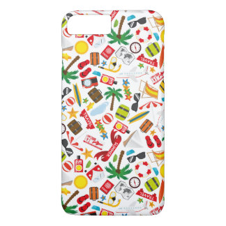 Pattern Summer holiday travel south sea iPhone 8 Plus/7 Plus Case