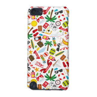 Pattern Summer holiday travel south sea iPod Touch (5th Generation) Covers
