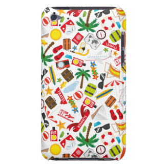 Pattern Summer holiday travel south sea iPod Touch Case