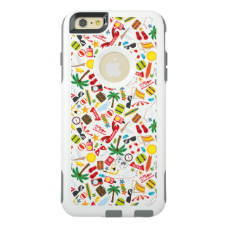 Pattern Summer holiday travel south sea OtterBox iPhone 6/6s Plus Case