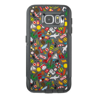 Pattern Summer holiday travel south sea OtterBox Samsung Galaxy S6 Case