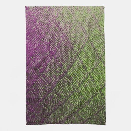 pattern towel