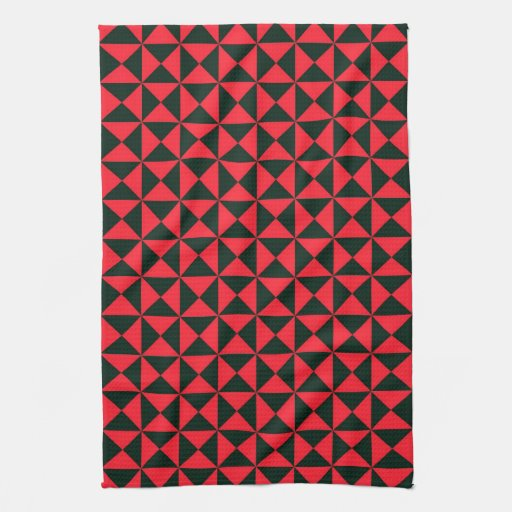 pattern kitchen towels