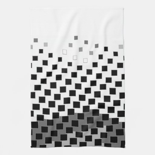 pattern hand towels