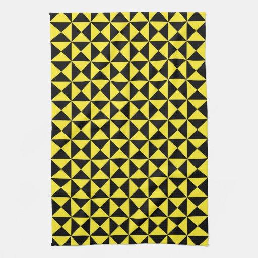pattern hand towel