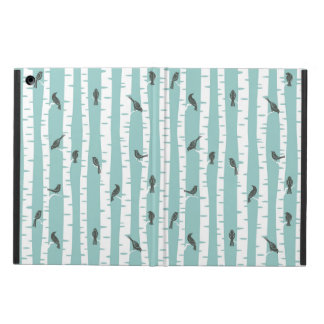 Pattern with birds and trees case for iPad air