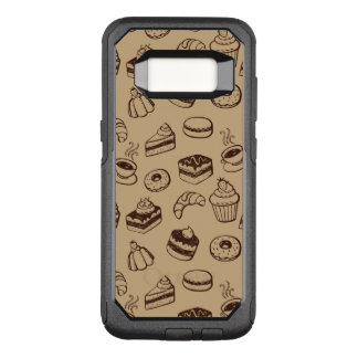 Pattern With Cakes, Desserts And Bakery OtterBox Commuter Samsung Galaxy S8 Case