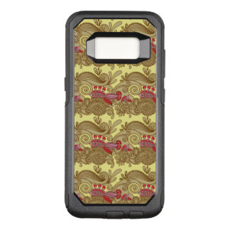 Pattern With Fish And Wave OtterBox Commuter Samsung Galaxy S8 Case