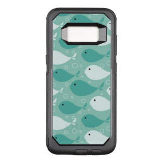 pattern with fish OtterBox commuter samsung galaxy s8 case