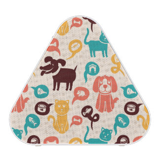 Pattern With Funny Cats And Dogs