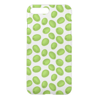 Pattern with  green olives iPhone 8 plus/7 plus case