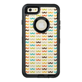 Pattern with mustache OtterBox iPhone 6/6s plus case