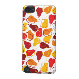 Pattern with pears iPod touch (5th generation) covers