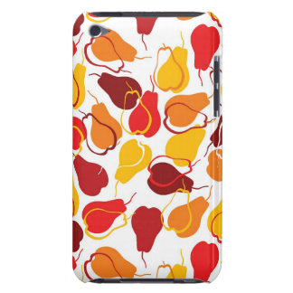 Pattern with pears iPod touch case