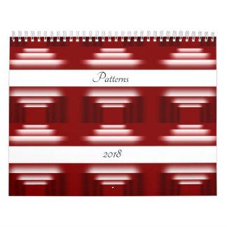 Pattern World Wall Calendar