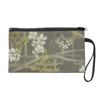 Patterned Blossom Branch I Wristlet Clutch