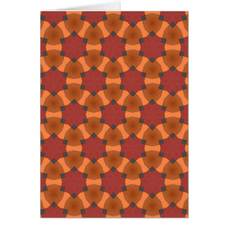 Patterned Card