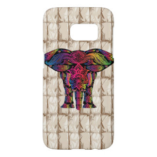 Patterned elephant Samsung S7 case