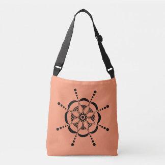 Patterned Floral Crossbody Bag
