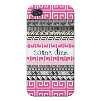 Patterned iPhone 4 Case: Seize the Day iPhone 4 Covers