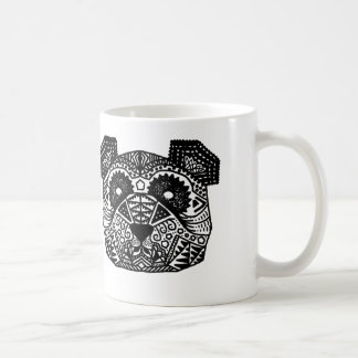 Patterned Panda Coffee Mug