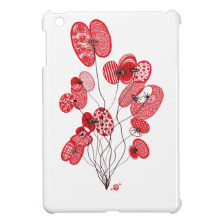Patterned Poppies iPad Mini Cover