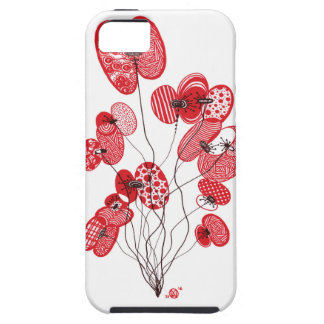 Patterned Poppies iPhone 5 Cover