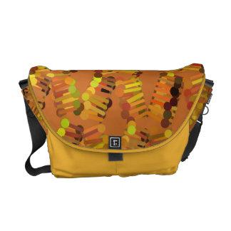 Patterned Rickshaw Messenger Bag