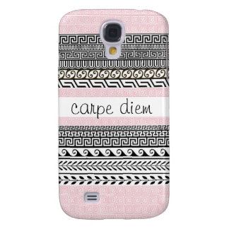 Patterned Samsung Galaxy Case: Seize the Day Galaxy S4 Case