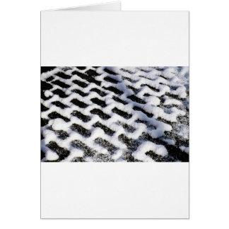 patterned walkway card