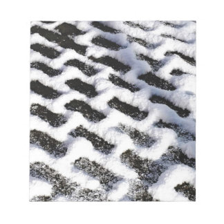patterned walkway notepad