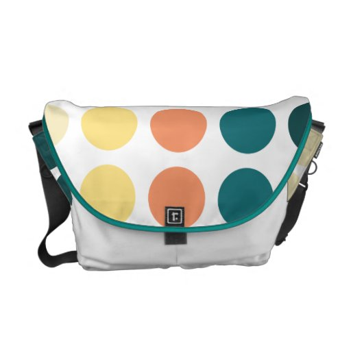 Patternism™ Medium Messenger Bag / Big Dream Dots