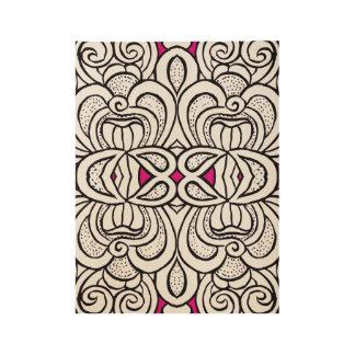 patternproc wood poster