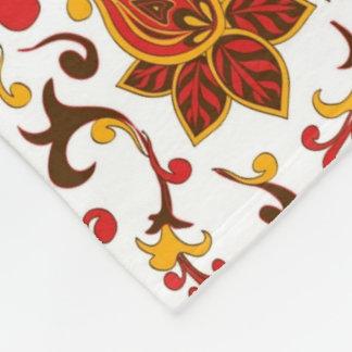 patterns_flowers_texture_ fleece blanket