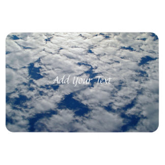 Patterns in the Sky Rectangular Photo Magnet