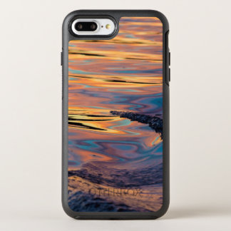 Patterns of Reflected Sunset in Boat Wake OtterBox Symmetry iPhone 8 Plus/7 Plus Case