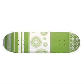 Patterns, Stripes & Circles: 2017 Pantone Greenery 18.1 Cm Old School Skateboard Deck