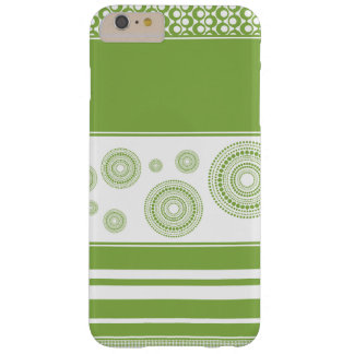 Patterns, Stripes & Circles: 2017 Pantone Greenery Barely There iPhone 6 Plus Case