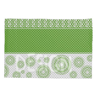 Patterns, Stripes & Circles: 2017 Pantone Greenery Pillowcase