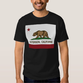patterson california state flag t-shirt