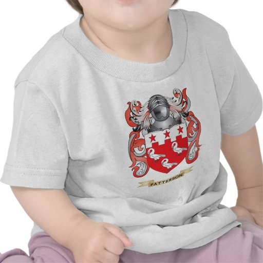 Patterson Coat of Arms (Family Crest) T Shirt