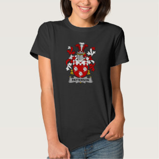 Patterson Family Crest T Shirts