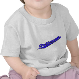 Patterson in Blue Tshirts