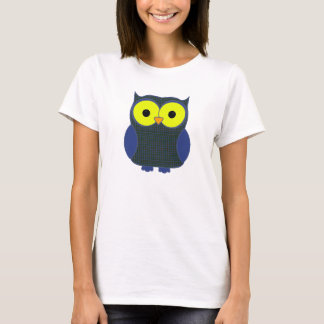Patterson Tartan Plaid Owl T-Shirt