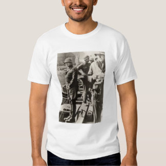 Patton pisses in Rhine River Tee Shirts