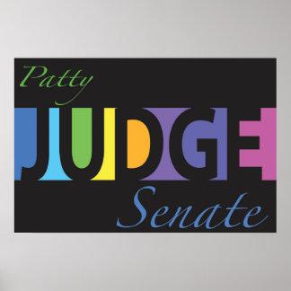 Patty Judge for Senate v3 Poster
