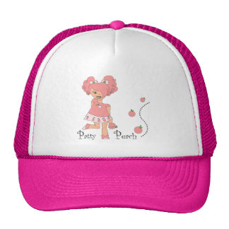 Patty Peach Cap