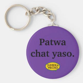 Patwa chat yaso key ring